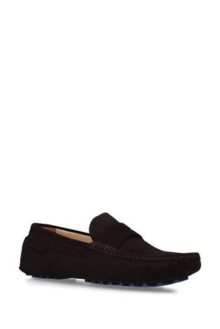 Kurt Geiger London Louis Brown Loafer Shoes