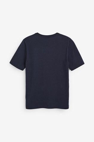 BOSS Navy Logo T-Shirt