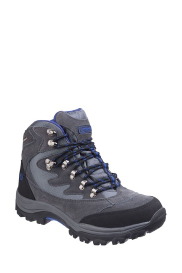 Cotswold Grey Oxerton Waterproof Hiker Boots