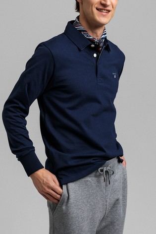 GANT Blue Original Heavy Rugger Shirt