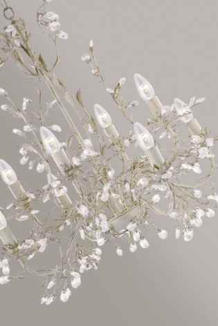 Issy 8 Light Chandelier by Searchlight