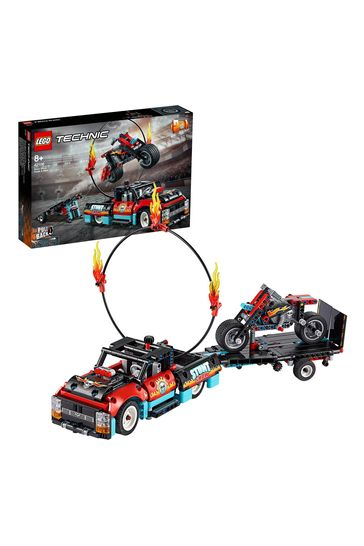 LEGO 42106 Technic Stunt Show Truck & Bike Toys Set