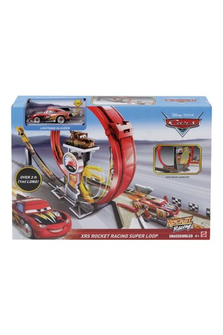 Disney™ & Pixar Cars XRS Rocket Racing Super Loop Trackset with Lightning McQueen