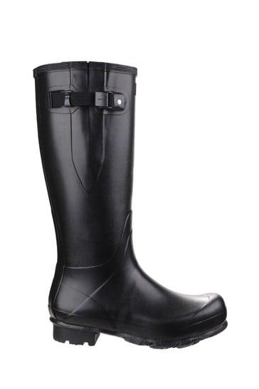 Hunter Black Norris Adjustable Field Boots