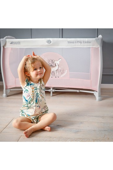 Hauck Sleep N Play Center 3 Travel Cot Sweety