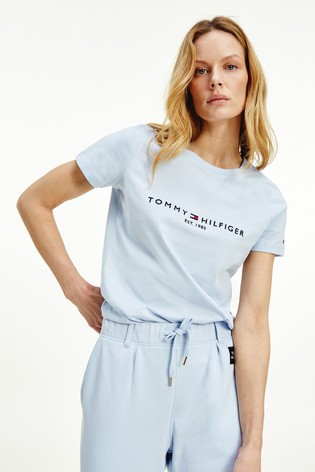 Tommy Hilfiger Blue Essential Crew Neck T-Shirt