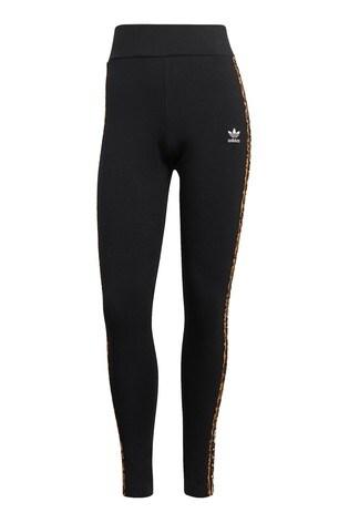 adidas Originals 3 Stripe Leopard Lux Leggings