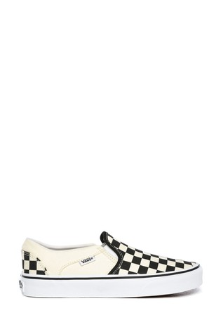 Vans Asher Womens Checkerboard Trainers