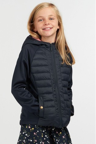 Barbour® Girls Nethercote Hybrid Jacket