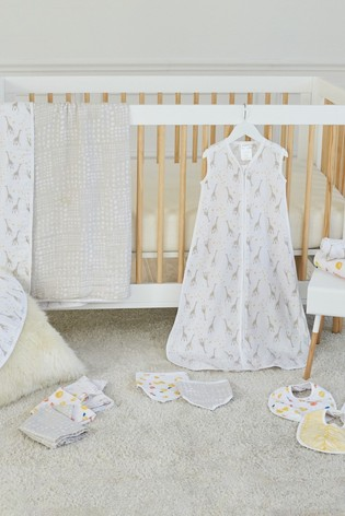 aden + anais Essentials Starry Star Muslin Swaddle Blankets Four Pack