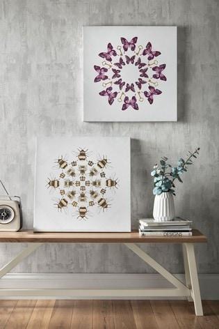 Blissful Butterflies Wall Art by Art For The Home