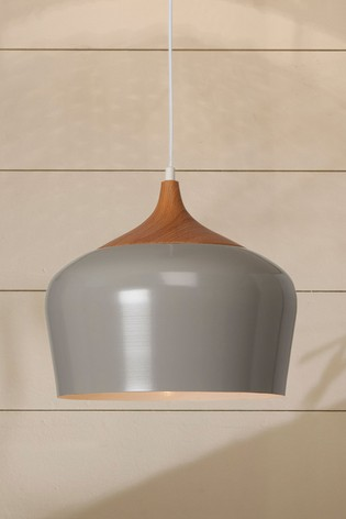 Village At Home Grey Samuel Ceiling Fitting