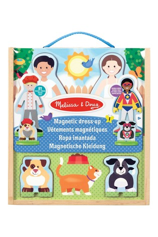 Melissa & Doug Occupations Magnetic Pretend Playset