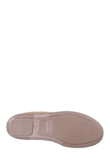Cotswold Cream Alberta Slip-On Moccasin Slippers
