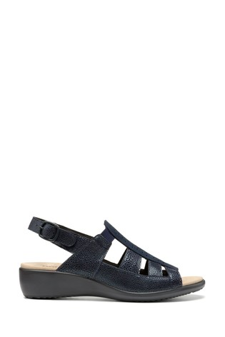 Hotter Roma Wide Fit Buckle Fastening Open Sandals