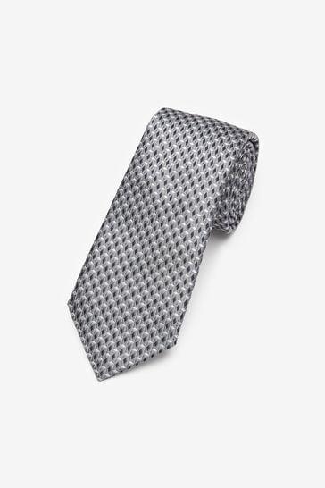 Silver Signature 'Made In Italy' Diamond Tie