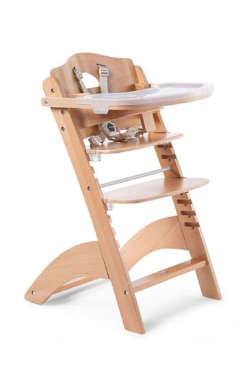Baby Grow Lambda 3 Natural High Chair and Cover