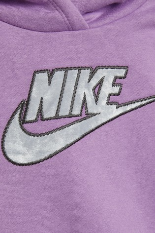 Nike Little Kids Lilac Hoodie And Leggings Set