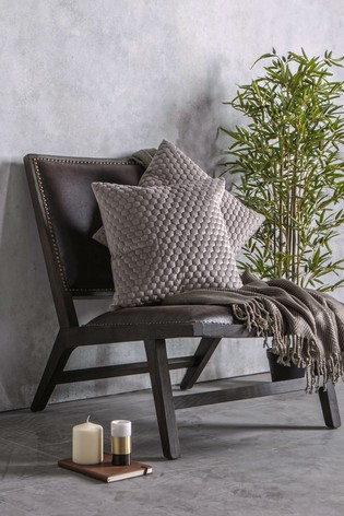 2 Pack Gallery Direct Taupe Honeycomb Cushions