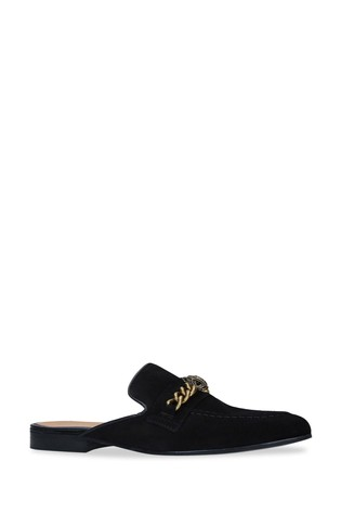 Kurt Geiger London Chelsea Backless Black Shoes
