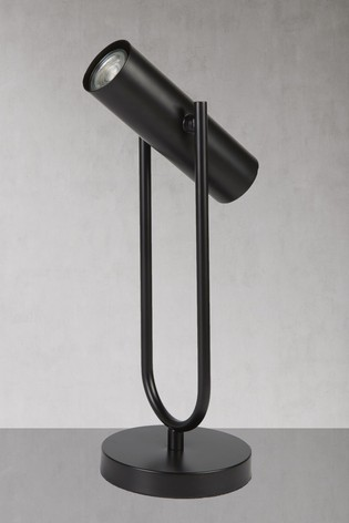 Echo 1 Light Cylinder Table Lamp by Searchlight