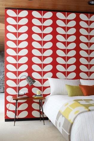 Orla Kiely Giant Stem Wallpaper