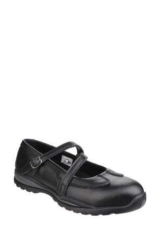 Amblers Safety Black FS55 Women's Safety Shoes
