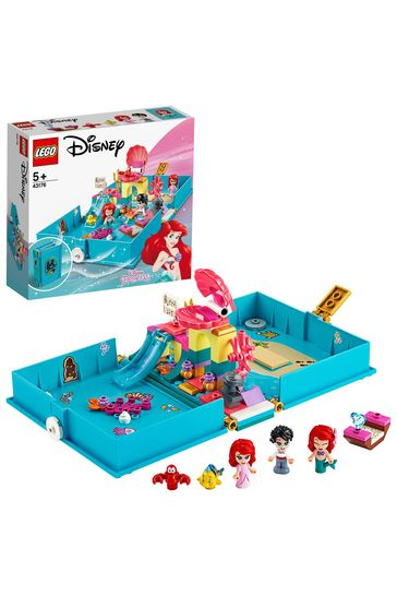 LEGO 43176 Disney Princess Ariel's Storybook Adventures Set