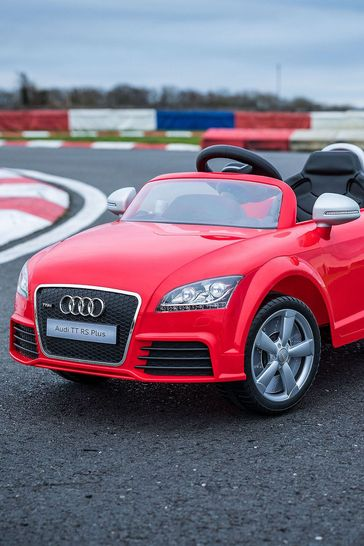 Audi Tt Electric RideOn Red 6V By Vroom