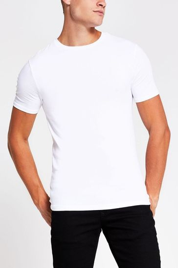 River Island Muscle T-Shirts Five Pack