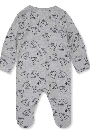M&Co Kids Grey Koala Print 6 Piece Starter Set