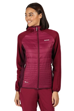 Regatta Purple Womens Andreson V Hybrid Baffle Jacket
