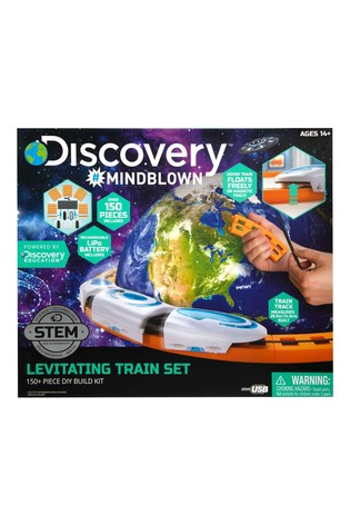 Discovery Mindblown DIY Train Magnetic Levitation
