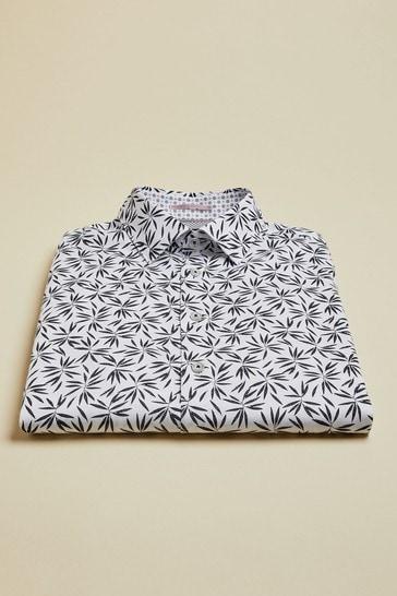 Ted Baker Krosa Leaf Print Shirt