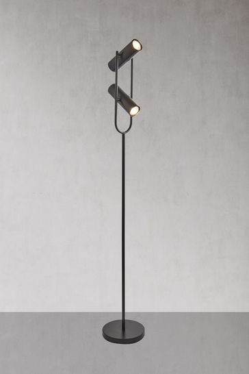 Echo 2 Light Cylinder Floor Lamp by Searchlight