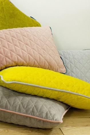 Riva Home Grey Quartz Cushion