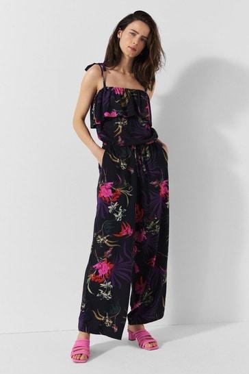 Blouse x Label Kimono Print Jumpsuit