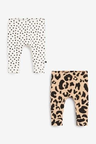 Myleene Klass Baby Leggings 2 Pack