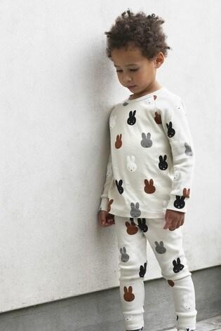 Tobias & The Bear Birch Grey Miffy & Friends Long T-Shirt