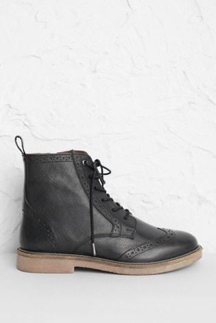 Seasalt Cornwall Black Conwenna Boots