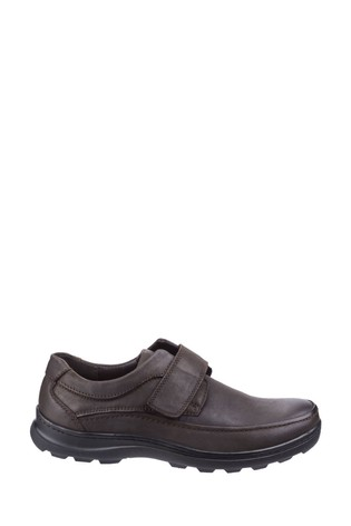 Fleet & Foster Brown Hurghada Touch Fastening Shoes