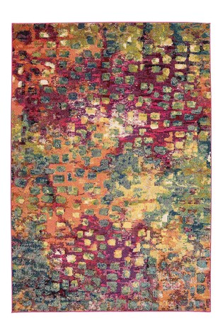 Colores Squares Rug by Asiatic Rugs