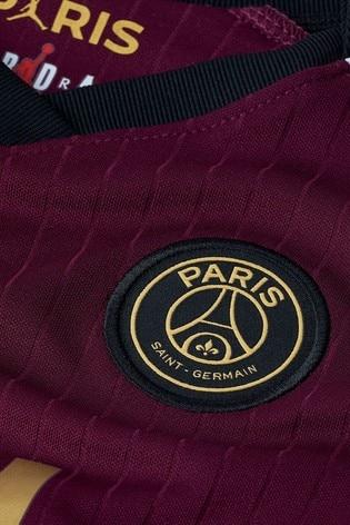 Nike Burgundy PSG Third 20/21 Kids Mini Kit
