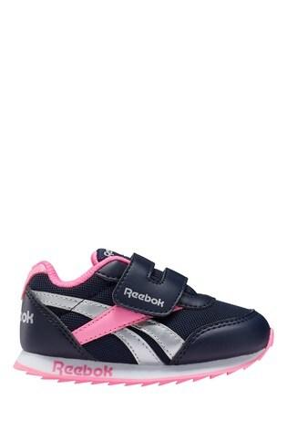 Reebok Black/Pink Trainers
