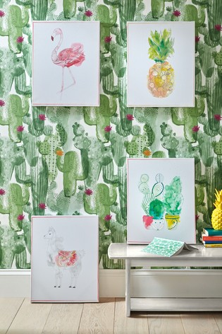 Cactus Craze Wall Art by Art For The Home