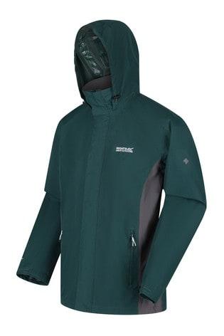 Regatta Green Matt Waterproof Jacket