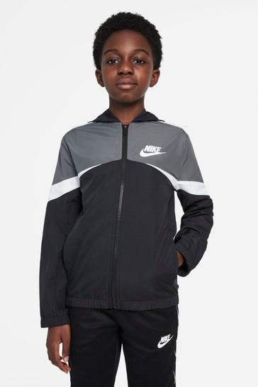 Nike Black Colourblock Jacket