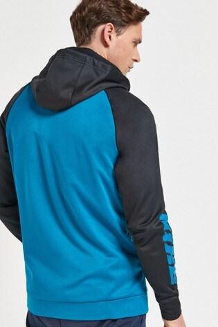Nike Therma Sport Clash Zip Through Training Hoodie