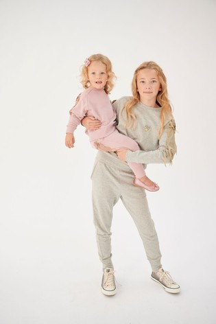 Angel's Face Silver Joggers