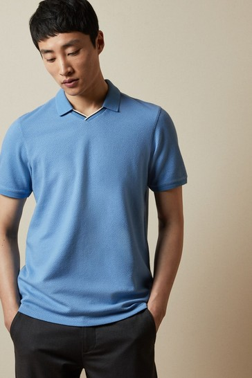 Ted Baker Kondenz Open Neck Polo